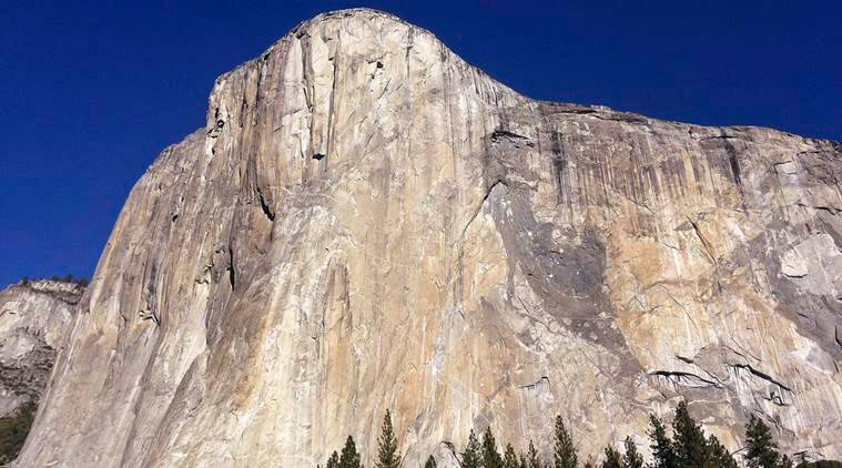 yosemite national park, El Capitan, rock fell