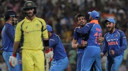 India vs Australia, 3rd ODI: Yuzvendra Chahal makes Glenn Maxwell his bunnyagain