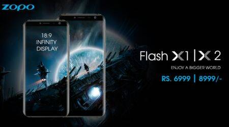Zopo Flash X1, Flash X2 with Infinity Display launched at Rs 6,999 and Rs 8,999 respectively
