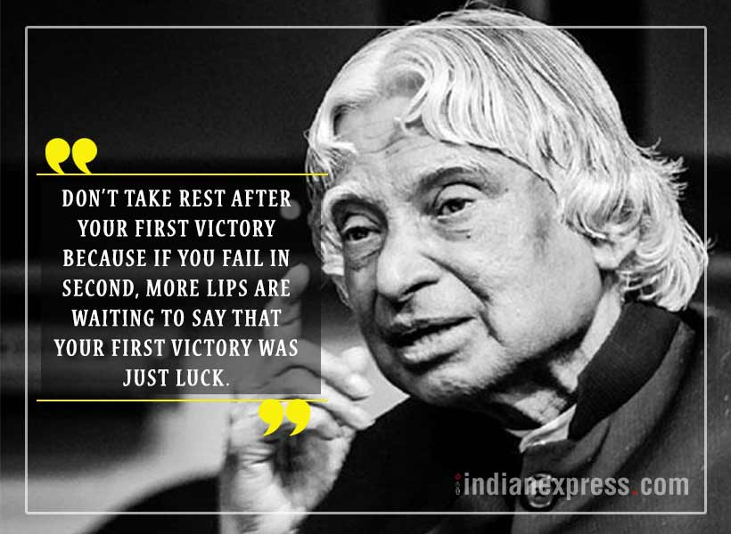 Best Inspirational Quotes By Abdul Kalam: 10 Quotes By APJ Abdul Kalam That Will Move And Motivate