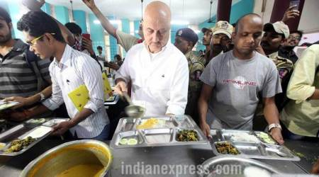 I'm on your side, Anupam Kher tells students during his surprise visit to FTIIcampus