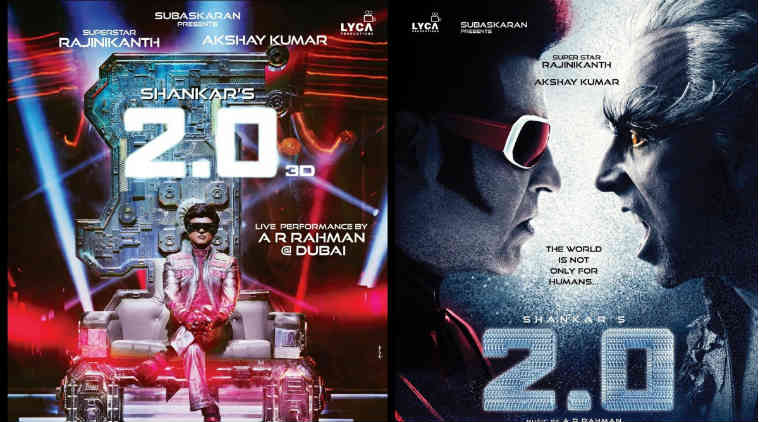 Rajinikanth 2.0 Movie Audio Launch To Be held in Dubai