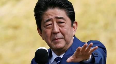 Shinzo Abe, Shinzo, Japan PM, Controversial war shrine, China, Japan South Korea relations, World News, Indian Express