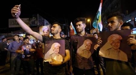 Clashes around parliament as Iraqi Kurdish leader steps down