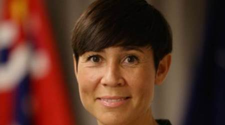 Norway appoints its first female foreign minister