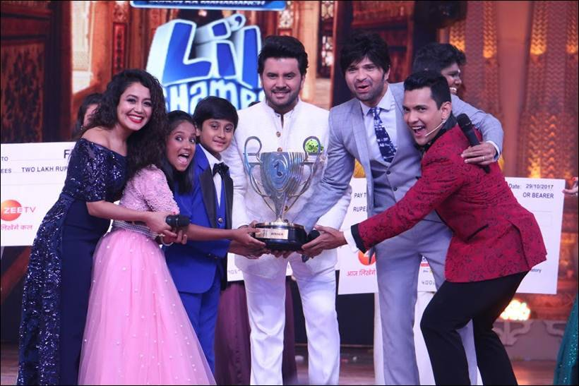 Sa Re Ga Ma Pa Li'l Champs, Sa Re Ga Ma Pa Li'l Champs winners, Shreyan Bhattacharya, Anjali Gaikwad, kapil sharma