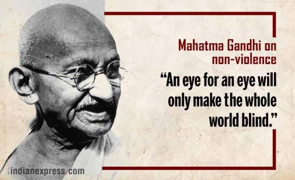 the influence of mohandas gandhi on non violent movements On this base of non-violence gandhi was deeply  influence, with its stress on non  main modes of the non-violent political movements.