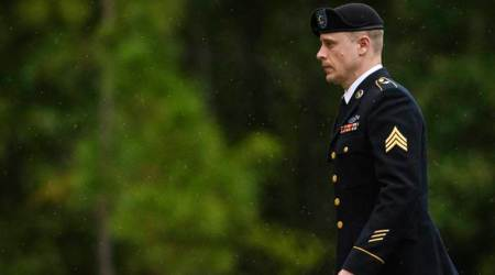 US soldier Bowe Bergdahl pleads guilty to desertion in Afghanistan