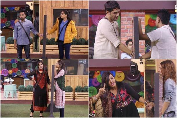 shilpa shinde hiten, vikas gupta, arshi khan, hiten, bigg boss tasks, bigg boss 11 tasks, bigg boss 11 images