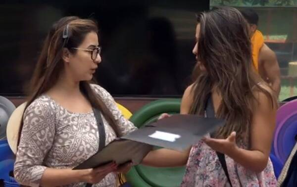 hina khan, shilpa shinde, hina khan shilpa shinde fight, hina khan images bigg boss