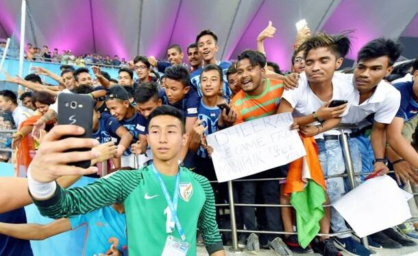 fifa u-17 world cup, u-17 world cup, india vs ghana, ind v gha, dheeraj singh, amarjit singh, eric Ayiah, football, sports, indian express