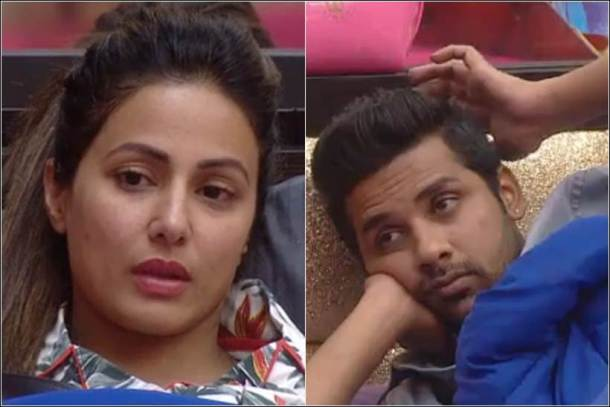 puneesh sharma, hina khan, puneesh hina fight, puneesh akash friendship, bigg boss 11 friendships, bigg boss 11 photos