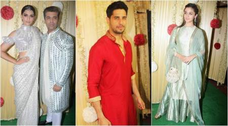 Inside Ekta Kapoor's Diwali celebrations: Sonam Kapoor, Bipasha Basu, Alia Bhatt, Sidharth Malhotra and Karan Johar partyhard