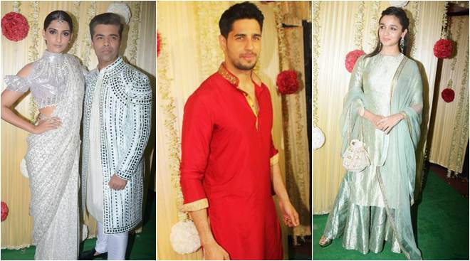 Inside Ekta Kapoor's Diwali celebrations: Sonam Kapoor, Karan Johar, Bipasha Basu, Alia Bhatt and Sidharth Malhotra party hard