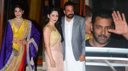 Sanjay Dutt's Diwali bash: Salman Khan, Aamir Khan, Vidya Balan and others grace the grand celebrations