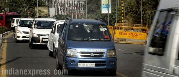 Arvind Kejriwal, Kejriwal car found, Kejriwal blue wagonR found, Kejriwal car stolen, Kejriwal missing car, Delhi police, Delhi news, Indian Express