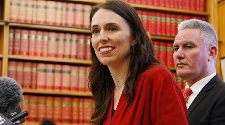 New Zealand PM Jacinda Ardern, Australian journalist Tiger Webb, Prime Minister Jacinda Ardern, Webb, NZ Parliament, journo calls NZ PM, Indian express, Indian express news