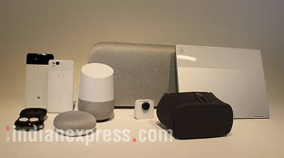Google Pixel 2, Google Pixel 2 XL, Google Pixel 2 price, Google Pixel 2 specifications, Google Pixel 2 XL price, Google Pixel 2 XL specifications, Google Daydream View, Google Daydream View VR, Google Home mini, Google Home Max, Google Home smart speakers, Google Clips, Google smart camera, Google Pixelbook, Google Pixel buds, Google wireless earphones