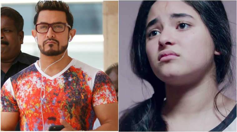 aamir khan, zaira wasim, secret superstar, dangal girl, zaira aamir