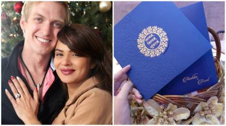 Aashka Goradia-Brent Goble's wedding card is here and it is extremely dreamy and classy. See photos