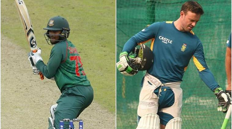 South Africa vs Bangladesh: Shakib Al Hasan, AB De Villiers return for one-day series