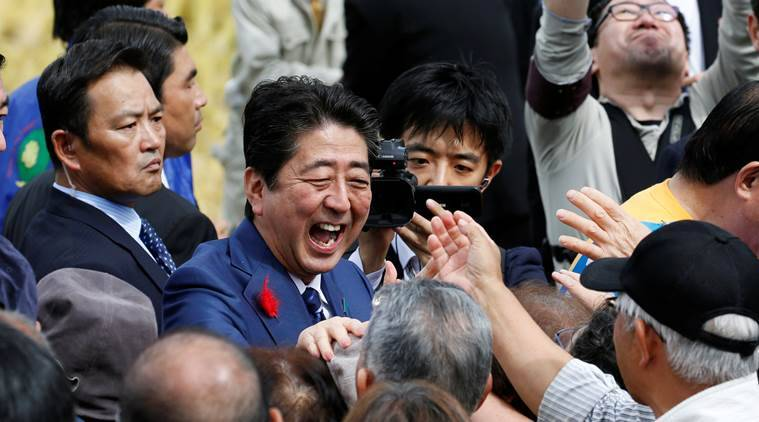 old ties with shinzo abe, old ties with shinzo abe's party, maintain old ties with japan liberal democratic party, Chikara Imai, rural japan, japan economy, for the benefit of japan economy, japan growth, indian express news