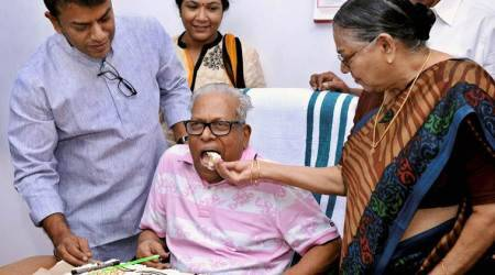 Kerala's iconic Marxist V S Achuthanandan turns94