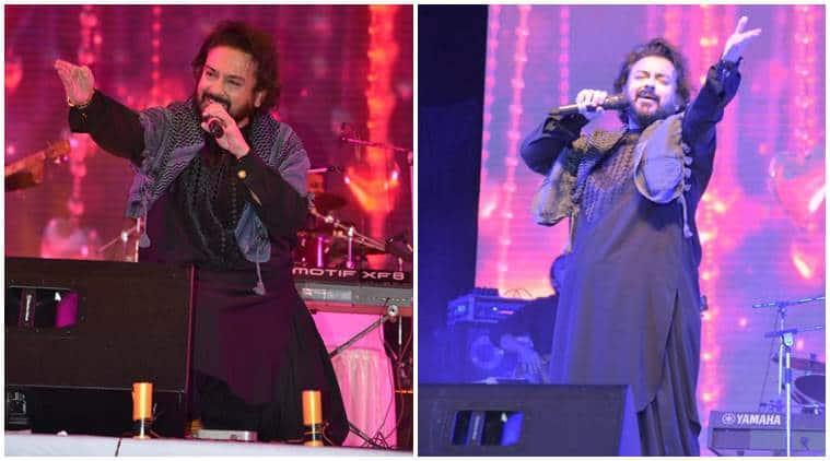 Adnan Sami, Adnan Sami concert, Adnan Sami concert photos, Adnan Sami concert video, Adnan Sami srinagar concert