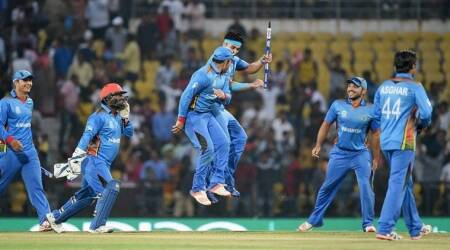 Afghanistan, Ireland, Zimbabwe, Sharjah, odi series, cricket, sports news, indian express