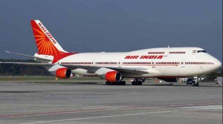 Baggage tow tractor rams into Air India plane at IGI airport