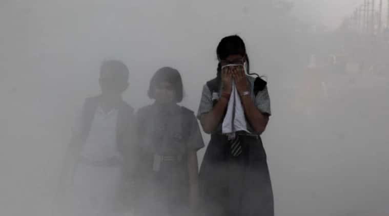 air pollution, effect of air pollution, effect of air pollution in children, harmful effects of air pollution, indian express, indian express news