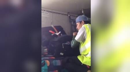WATCH: Manipur CM shares video of airline staff allegedly 'snooping around' passenger luggage