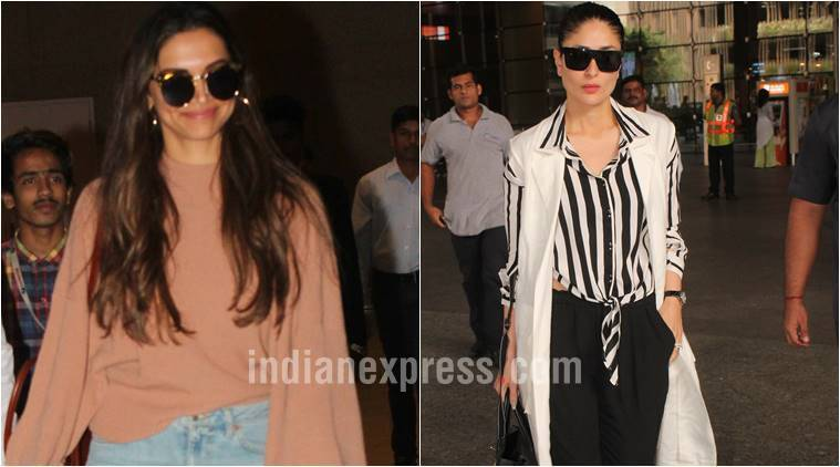 Deepika Padukone, Deepika Padukone latest photos, kareena kapoor khan, kareena kapoor khan latest photos, kareena kapoor khan fashion, indian express, indian express news