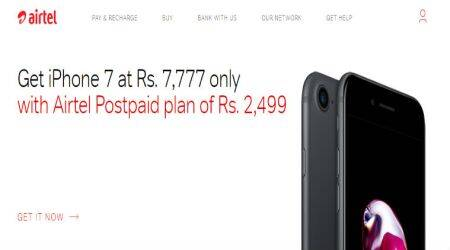 Airtel, iPhone 7, Airtel iPhone Offer, iPhone 7 price in India, Airtel iPhone 7 offer, Airtel online store iPhone 7, Airtel store iPhone 7 EMI, iPhone 7 Plus Airtel online store, Airtel Store iPhone 7, iPhone 7 Airtel Plan, iPhone 7 with Airtel