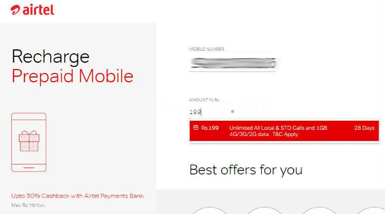 Airtel's Rs 199 plan offers 1GB 4G data and unlimited calls: Here