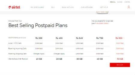 Airtel offers 50GB data, unlimited calling at Rs 999: Here's all you need toknow