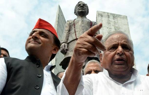 Akhilesh Yadav, Mulayam Singh Yadav, Samajwadi party, Samajwadi party news, Ram Manohar Lohia's Death anniversary, Fued betwee Akhilesh and Mulyam Singh yadav, Uttar Pradesh news, India news, National news, latest news, India news, National news, Latest news
