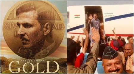 Photo: Akshay Kumar wraps up another fantastic schedule of Gold in Patiala