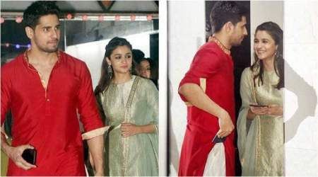 Photos: When Sidharth Malhotra and Alia Bhatt met at Sanjay Kapoor's birthday bash