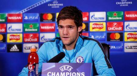 Chelsea's Marcos Alonso seeks win against Roma after league setbacks