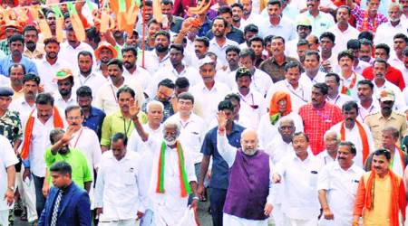 Jan Raksha yatra ends in Kerala: Did CPM get mandate to kill BJP cadres, asks Amit Shah