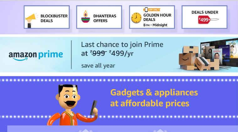 Amazon Prime Rs. 499 introductory offer to end on October 30