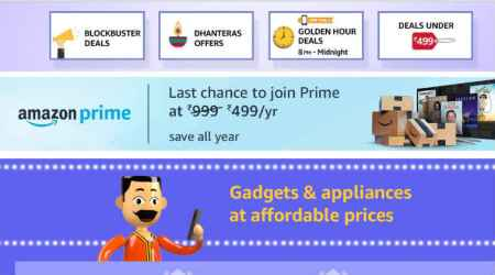 Amazon Prime: Introductory Rs 499 offer ends Oct 31, new subscriptions to be worth Rs 999