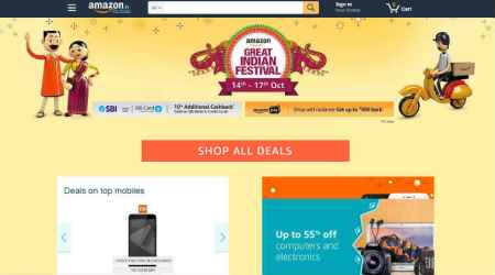 Amazon, Amazon Great Indian Sale, Amazon Diwali Sale, Amazon sale, mobile discounts, Amazon mobile sale, Amazon smartphone discounts, OnePlus 5 discount, Apple iPhone 6 discount, iPhone deals, Xiaomi Redmi 4