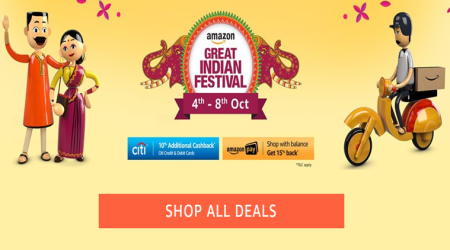 Amazon Great Indian Festival Sale: Up to 70% off on fashion, home and kitchenappliances