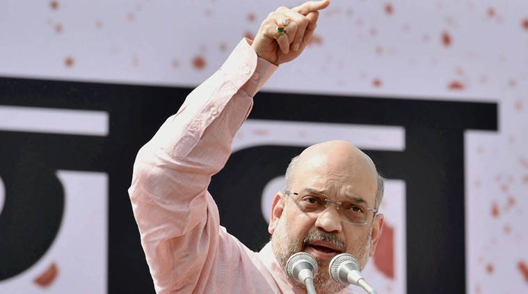 BJP chief Amit Shah on Moody's upgradation