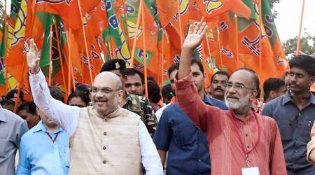 Amit Shah skips Kerala Jan Raksha Yatra, BJP left red-faced