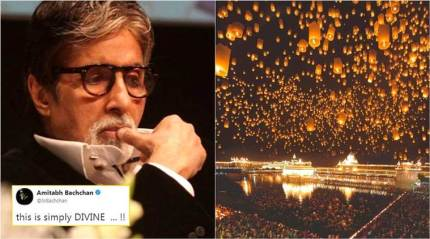 Amitabh Bachchan shared this viral Golden Temple photo too; but it is FAKE!