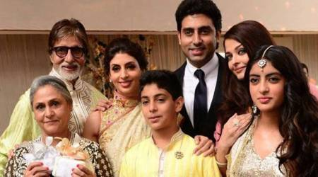 Abhishek-Aishwarya host midnight birthday bash for Amitabh Bachchan in M   aldives