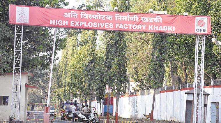 Ammunition Factory Khadki (AFK) Pune, Pune ammunition factory,  General Safety Directives (GSDs, pune ammunition factory exlosion, khadki factiry explosion, pune news, indian express news